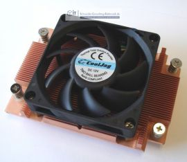 1HE Server Kühler Sockel AM2/AM3 aktiv AMD Quad/Dual Core Opteron Phenom Athlon Serie PWM AMA-A3