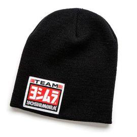 Kunden zuerst erstklassiges echtes beispiellos Yoshimura Logo Team Mütze Beanie Wintermütze schwarz