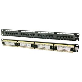 Patchpanel 48,3cm (19 Zoll) CAT6 24 Port LSA